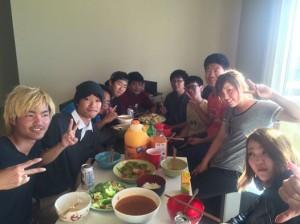 友達との食事会