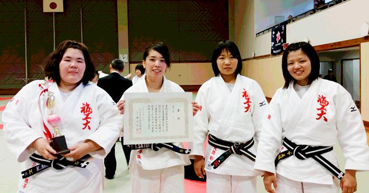 女子柔道部 全国大会出場決定!