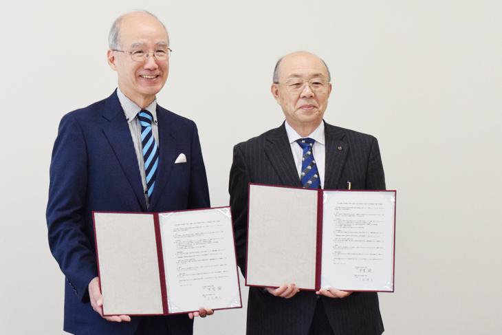 中村学園大学短期大学部と福岡工業大学短期大学部が交流協定を締結