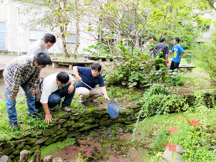 【国公私立大環境系3大学連携】第4回 福岡工業大学・長崎大学 ビオトープサークル交流会を開催