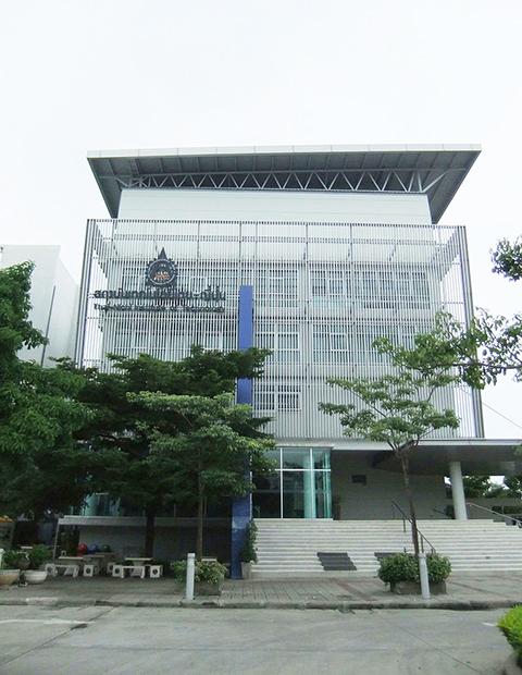 下村学長と米田理事 泰日工業大学表敬訪問