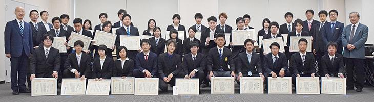 平成28年度上期 学生表彰が行われました