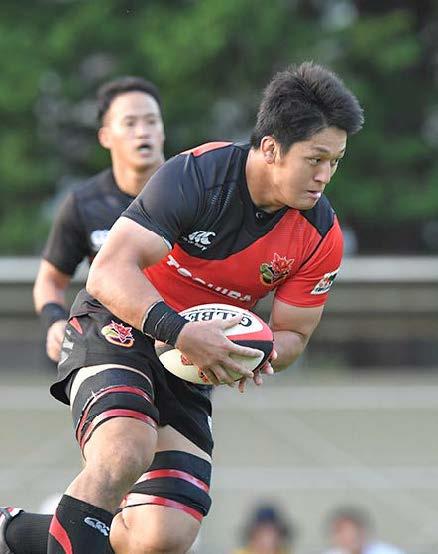 ラグビー日本代表に本学卒業生の梶川 喬介さん(東芝)が選ばれました!