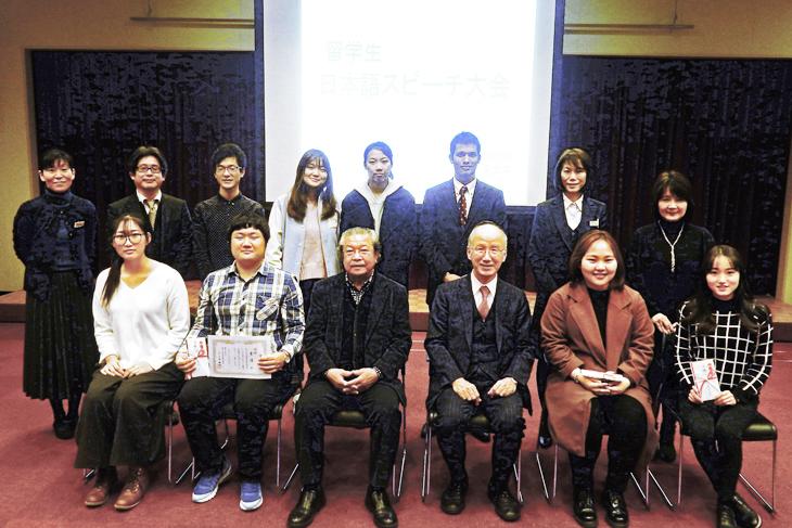 留学生日本語スピーチ大会を開催しました!