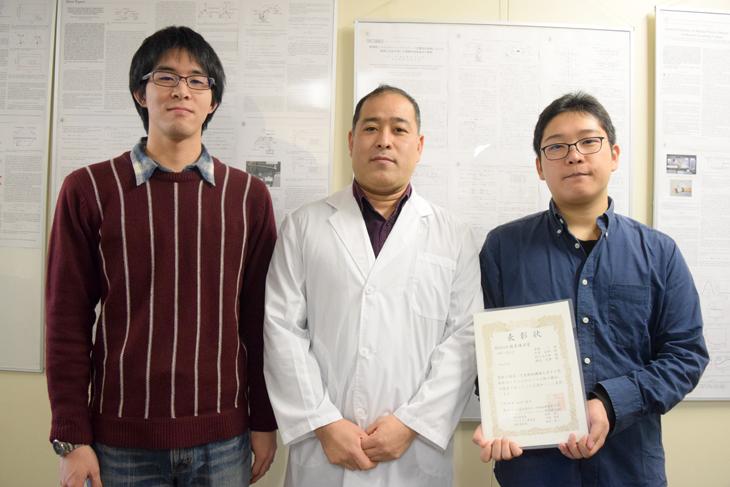 「SI2016 SAPPORO 計測自動制御学会システムインテグレーション部門講演会」木野研究室の今井さんと村上さんが優秀講演賞を受賞