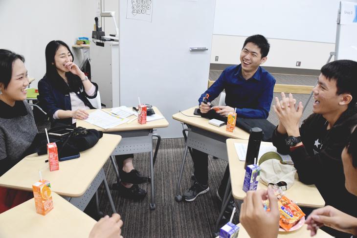 シンガポール人学生との交流会