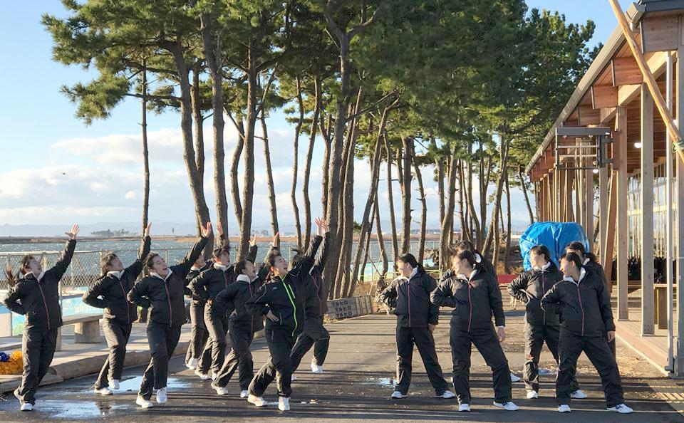 城東高校ダンス部 宮城県へ 復興支援イベントへ参加