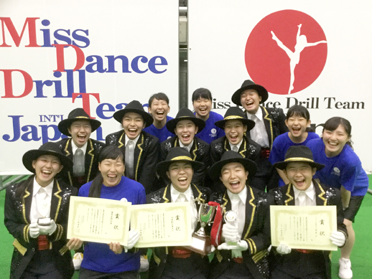 福工大附属城東高校ダンス部 4年連続「American Dance/Drill Team National/International Championship 2018」へ出場!