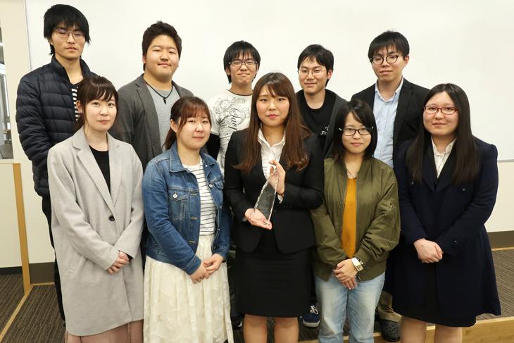 [FIT ポケットラボ]古賀穂香さん 第6回サイエンス・インカレにて「DERUKUI」を受賞!