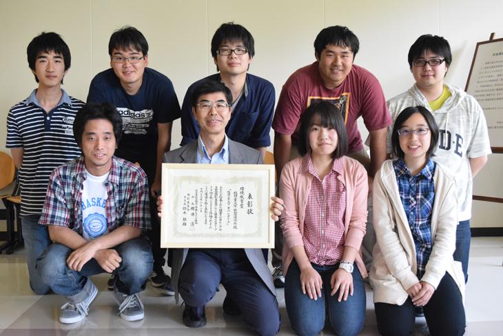 [社会環境学部 ビオトープ研究会]第9回ビオトープ顕彰『環境教育賞』受賞