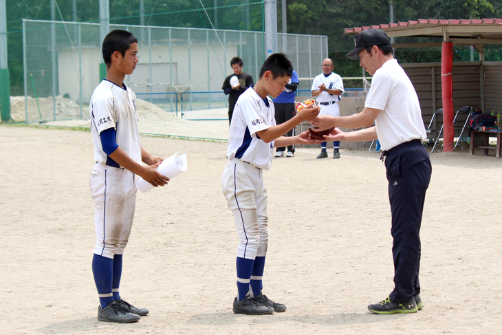 [少年野球チームFITジュニア]第9回尾元杯 準優勝!