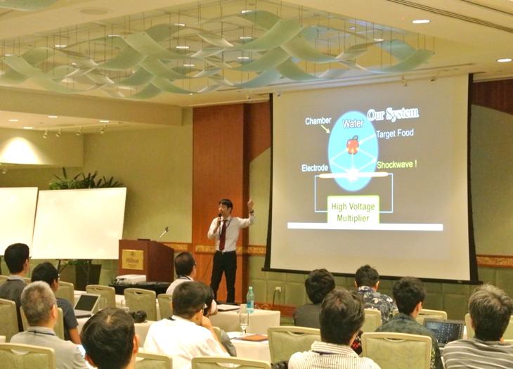 [電子情報工学科]江口教授が国際会議ICISIP2017において基調講演を行いました