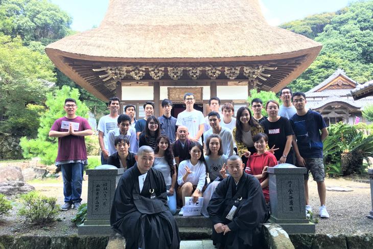 留学生研修旅行を実施しました