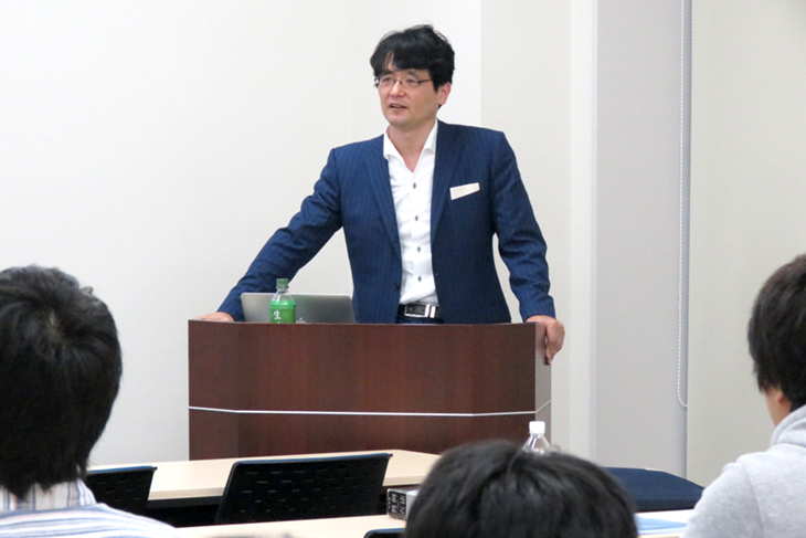 第12回FIT-MEセミナー 弁護士を招いて「企業との共同研究を巡る法律問題」を開催