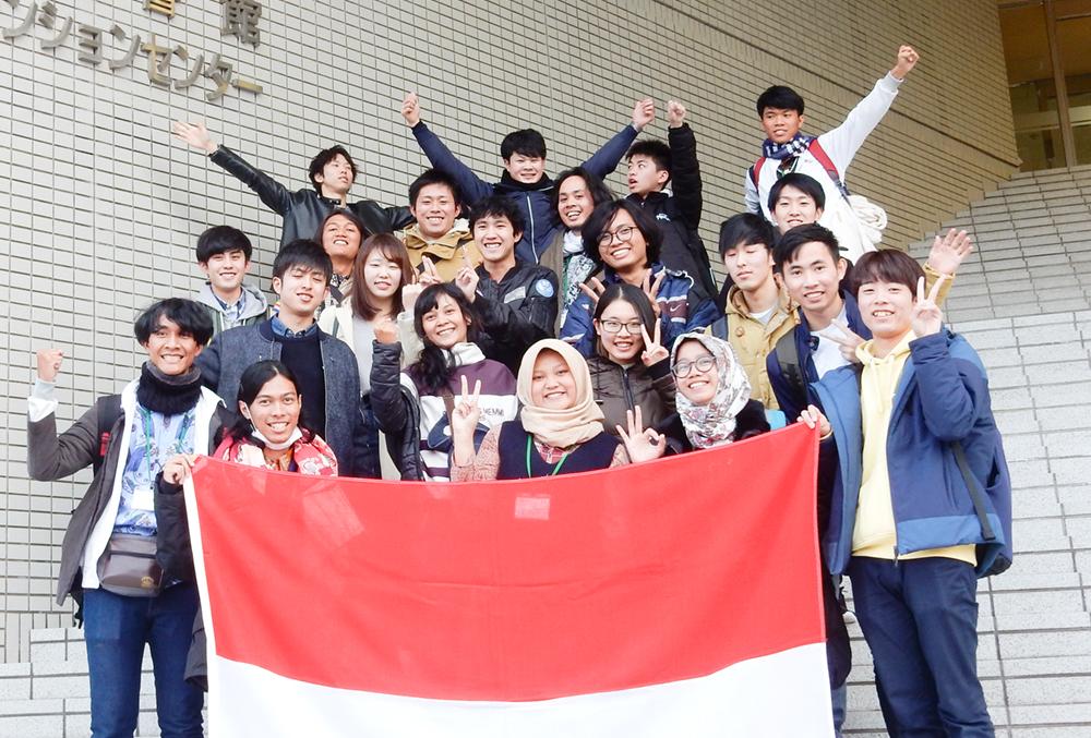JENESYS2017 インドネシア人学生との交流会