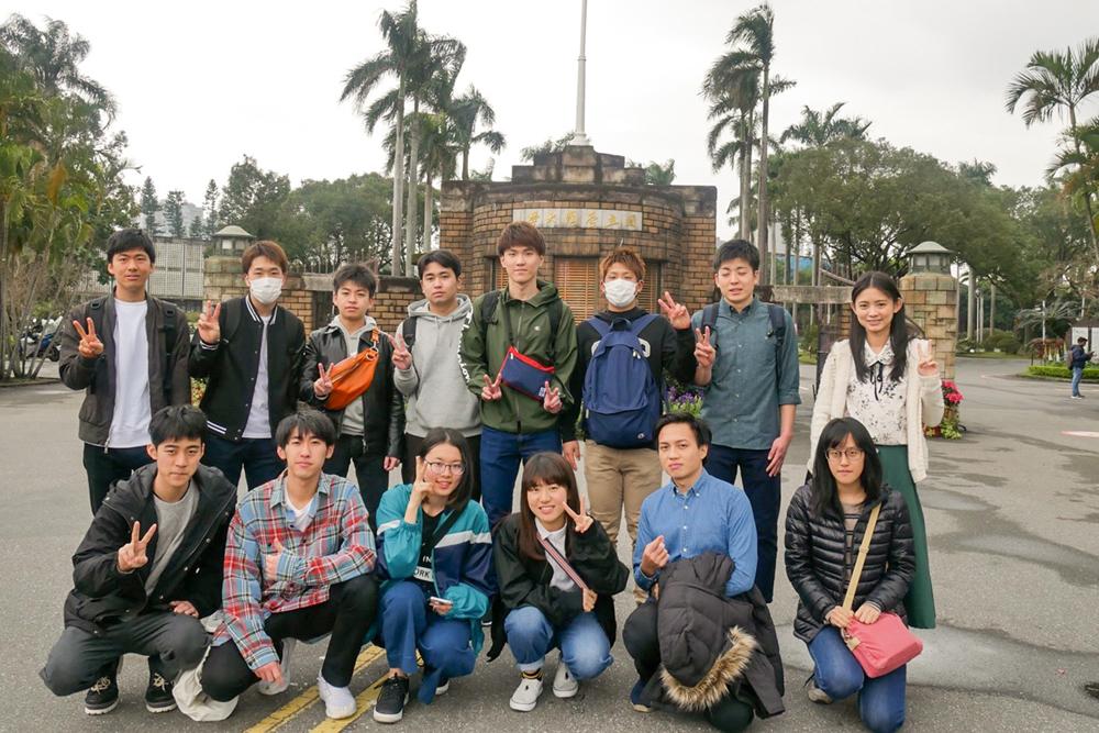 [STEP]台湾コース参加の11名が帰国!
