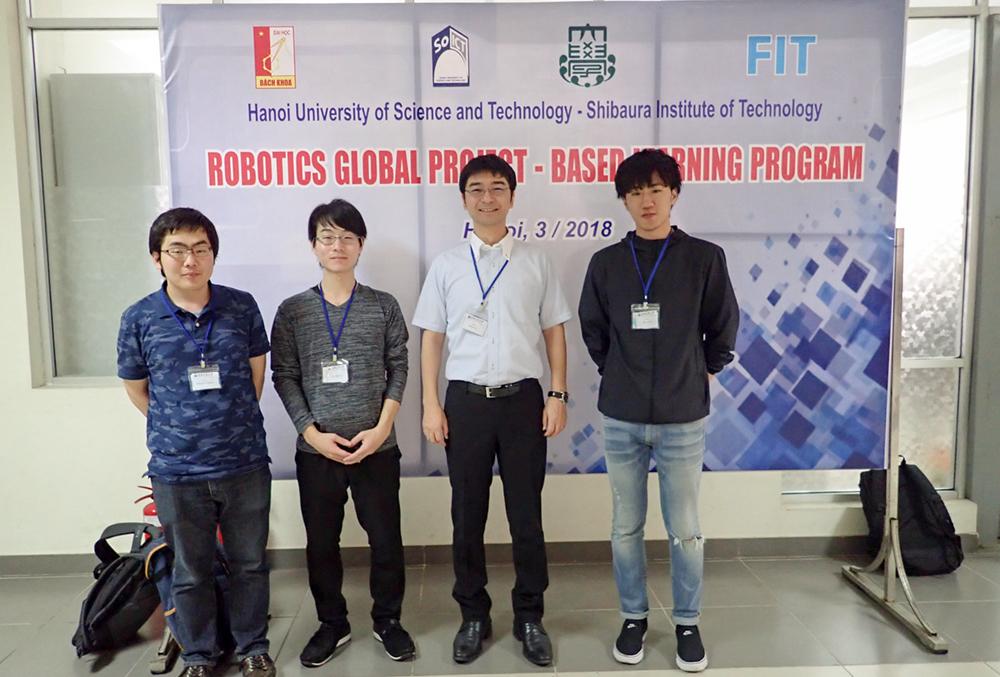 [電子情報工学科]ベトナムHUSTで開催されたgPBLプログラムに参加!
