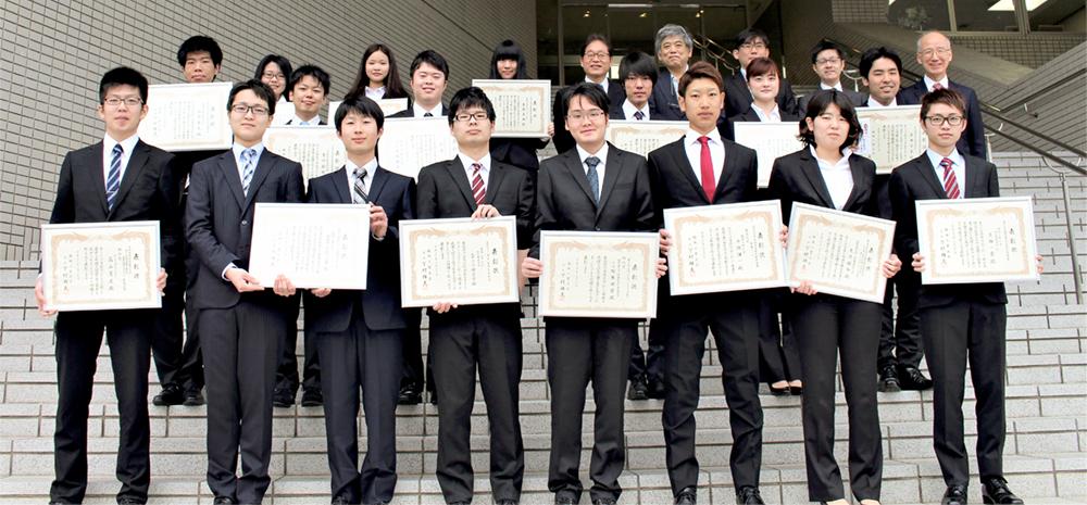 平成29年度 学生表彰<下期>-2