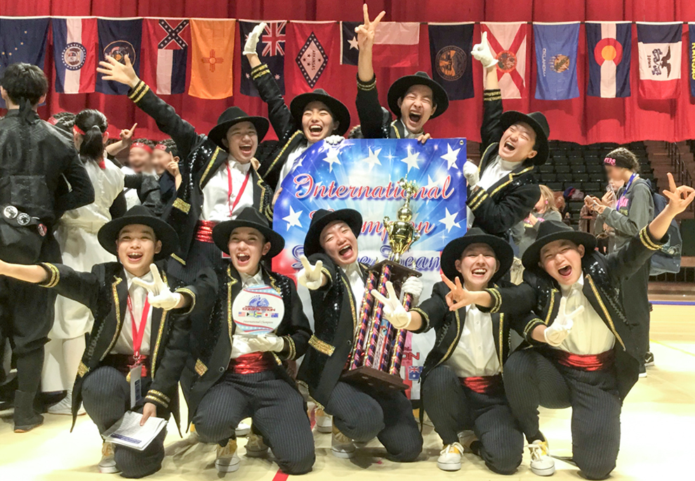 [城東高校ダンス部]American Dance/Drill Team National/International Championship 2018 HIP HOP部門 世界大会優勝