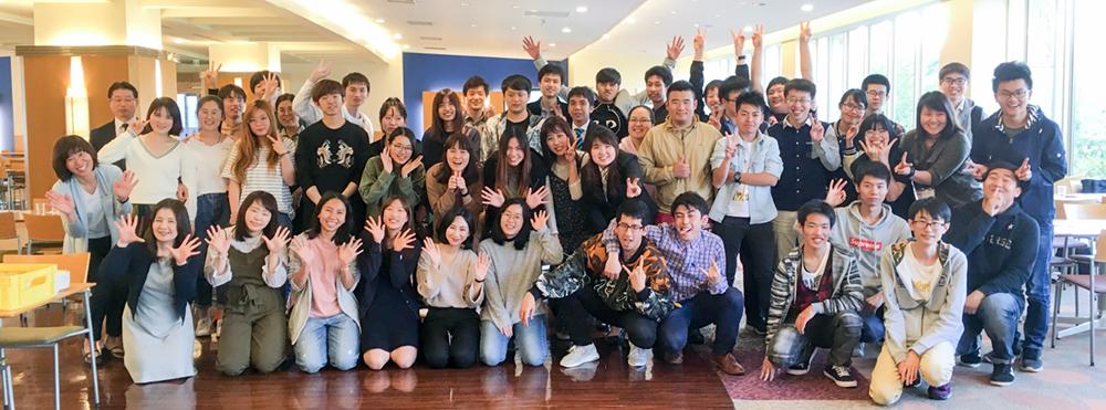 2018年度 新入留学生歓迎会を開催しました