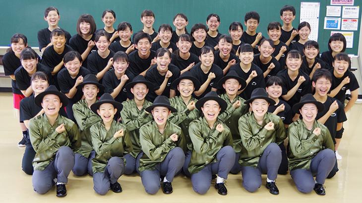 [附属城東高校]ダンス部 全国高等学校ダンスドリル選手権  全国大会へ5年連続出場決定!