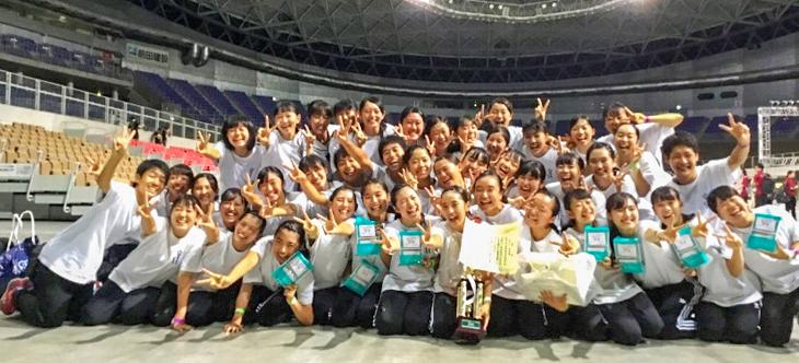 [城東高校ダンス部]全日本高等学校チームダンス選手権 全国大会 小編成部門 準優勝!