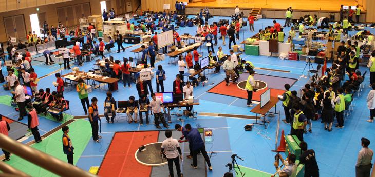 [城東高校ロボット相撲プロジェクト]第30回 全日本ロボット相撲大会 九州大会 高校生の部 ラジコン型:優勝!自立型:準優勝・3位入賞!