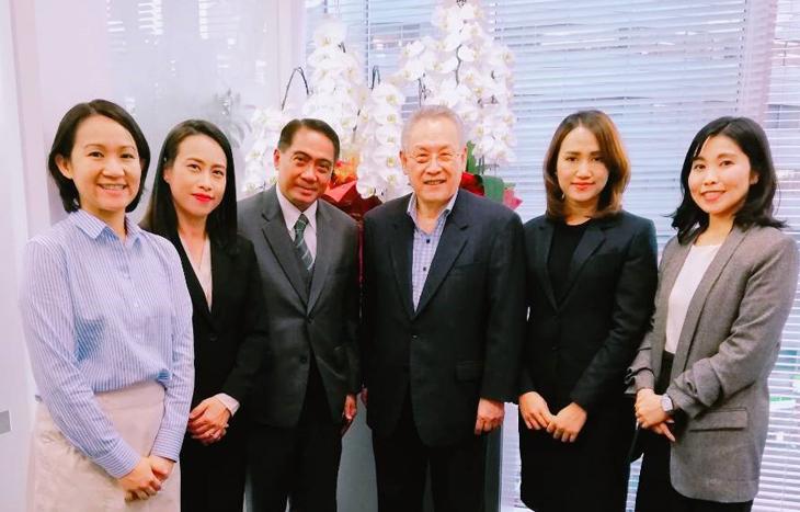 在福岡タイ王国総領事館のアッタカーン総領事を表敬訪問