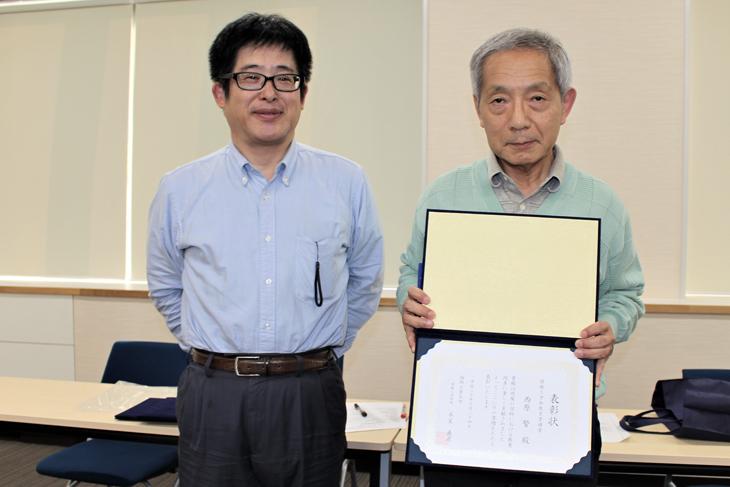 平成30年度 情報工学部 教育業績賞 表彰式が行われました