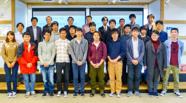 [情報工学部]クラウドアプリ開発入門講座 成果報告会を開催しました