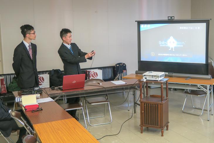 [情報システム工学科]山本研究室 島原城の観光PRを目的としたPBLが進行中!