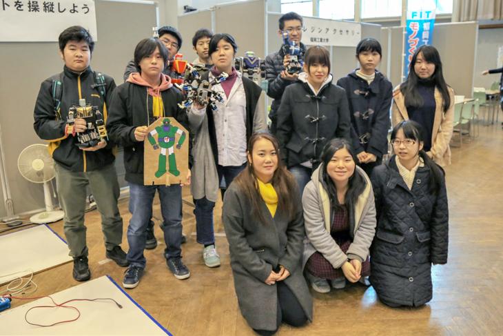 第8回「みんなの科学広場in唐津」モノづくりセンタープロジェクトメンバー12名が参加!
