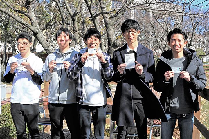 [情報通信工学科]5名が国家資格『第1級陸上無線技術士』資格試験に合格!