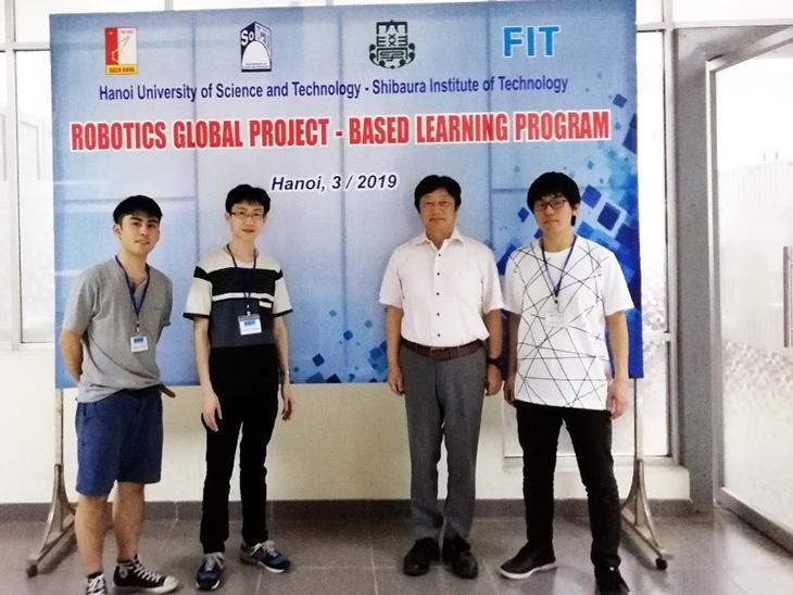 [電子情報工学科]ベトナムで開催されたgPBLプログラムから帰国!