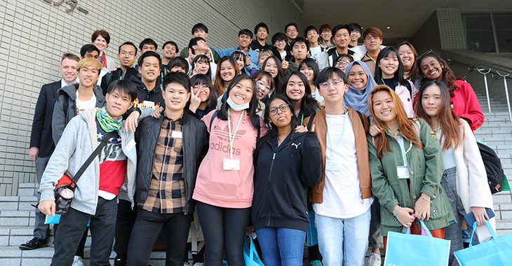 JENESYS2018 シンガポール人学生との交流会
