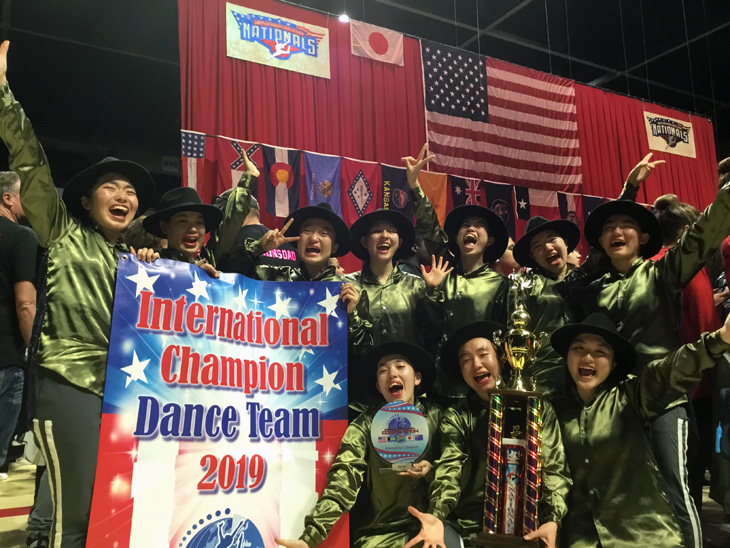 [城東高校ダンス部]American Dance/Drill Team National/International Championship 2019 2年連続 HIP HOP部門 世界大会優勝!