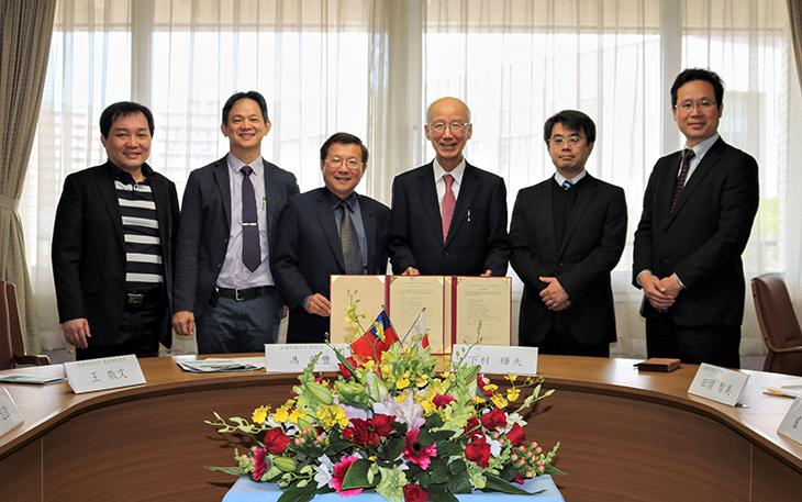 協定校の台湾 高雄科技大学一行が 本学を訪問しました