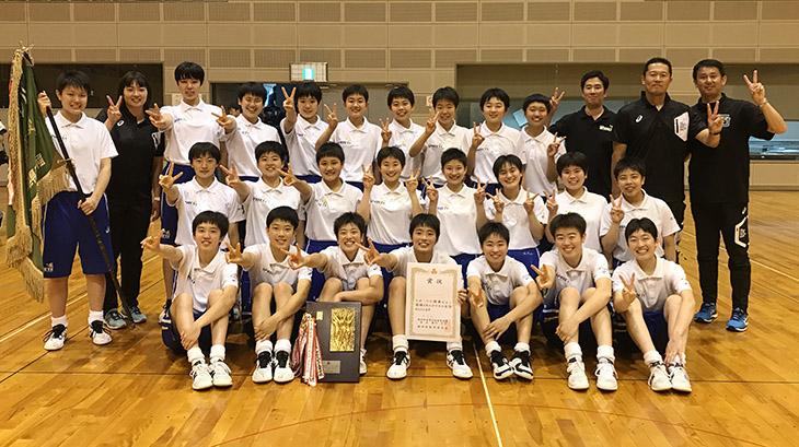 [附属城東高校]バレーボール<女子>インターハイ(全国大会)出場決定!