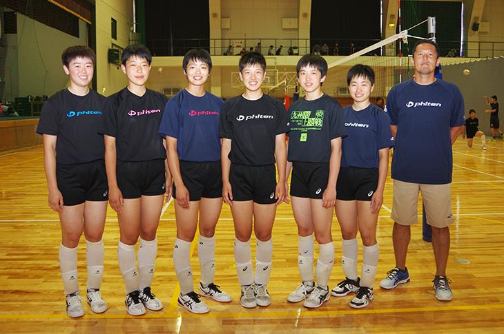 [附属城東高校]バレーボール少年女子福岡県代表に 6名の選手と監督が選出!令和元年度 国民体育大会