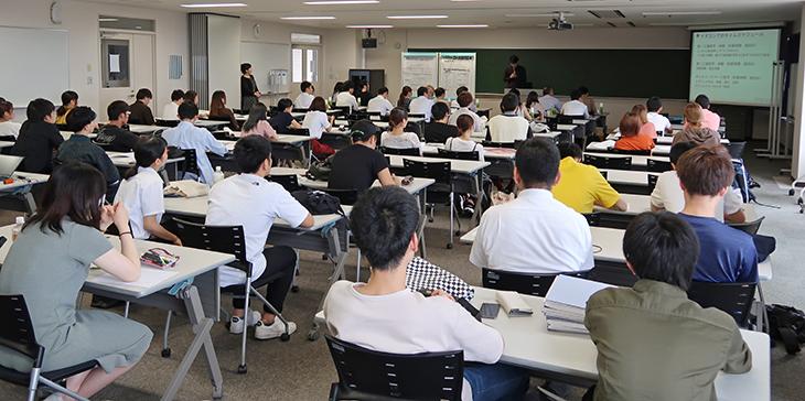 [システムマネジメント学科]古賀市プロジェクトVol.3「工場見学・体験教室」第二回実行委員会 公開講義開催