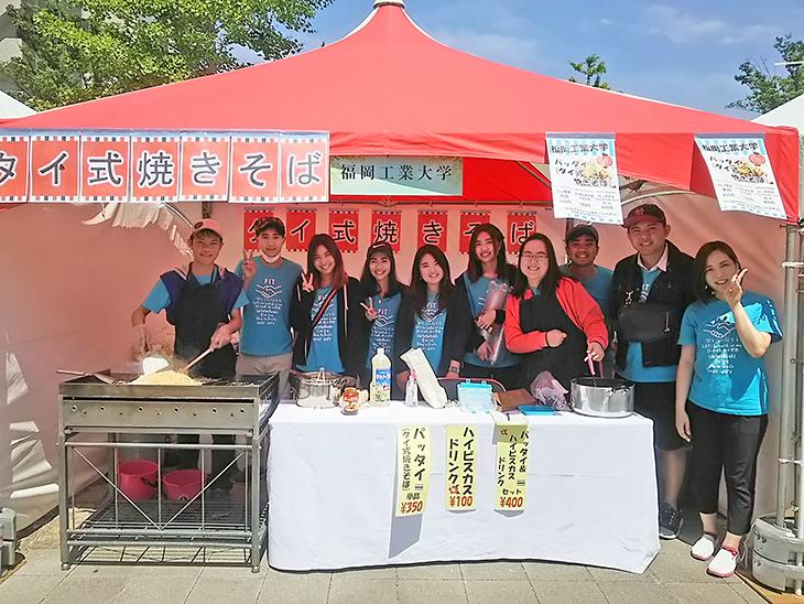 福工大の留学生 なみきスクエアのイベントで『タイ式揚げ春巻き』を販売します