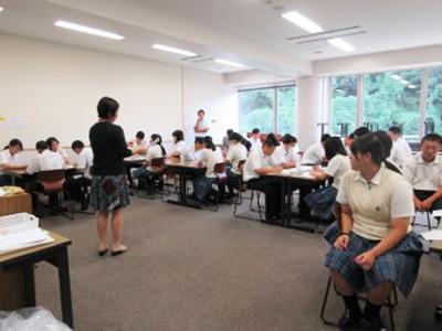 博多高校土曜講座「チームワークを学ぼう!」が実施されました