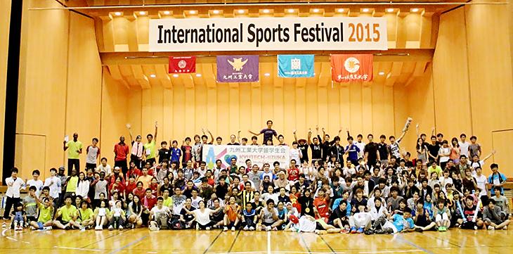 インターナショナルスポーツフェスティバル開催しました
