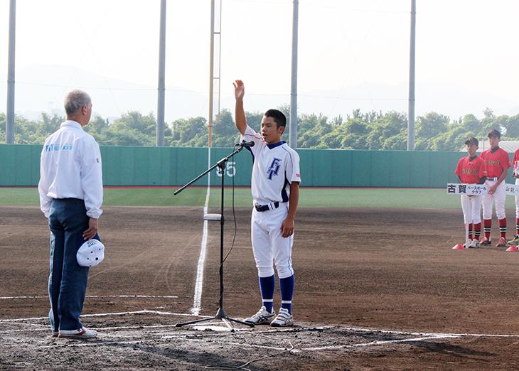 [地域共生事業] 第4回中学生軟式野球「錬成大会」が行われました