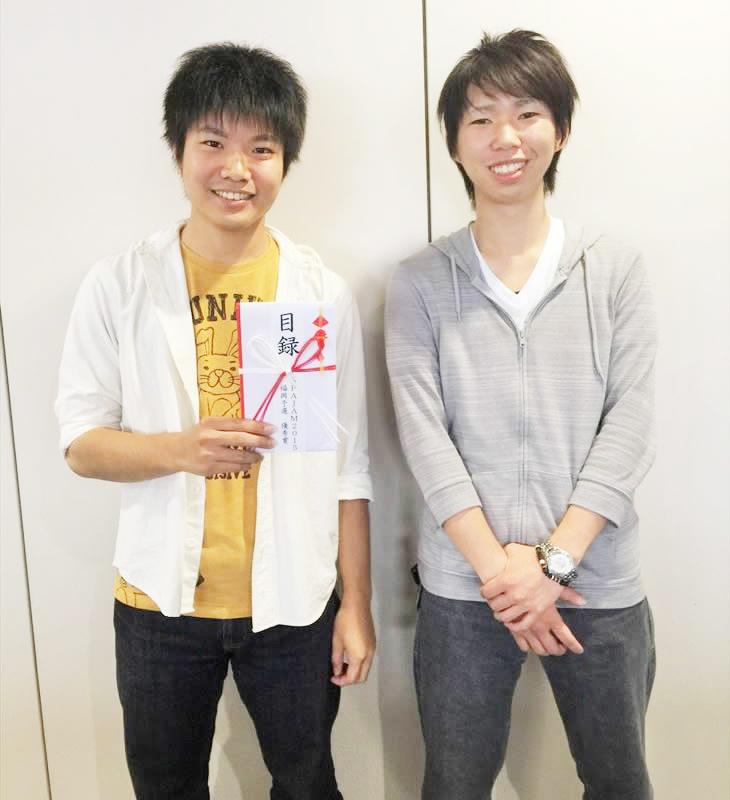 [SPAJAM2015]短期大学部 松江さんチームが優秀賞を受賞!