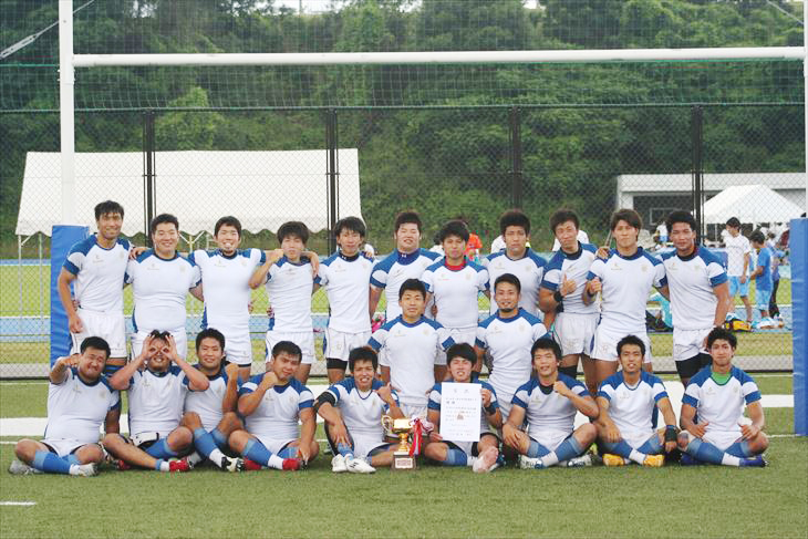 [ラグビー部]第3回村上杯九州春季リーグ戦全勝優勝!