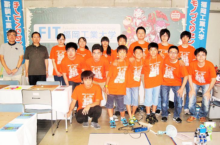 青少年のための科学の祭典に『モノづくりセンター』が今年も参加しました!