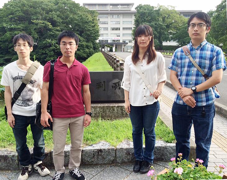 [社会環境学科 千手ゼミ・片岡ゼミ]学外講義で裁判や裁判所見学を行いました。