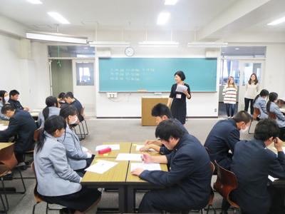 博多高校土曜講座-「チームワークを学ぼう!」が実施されました
