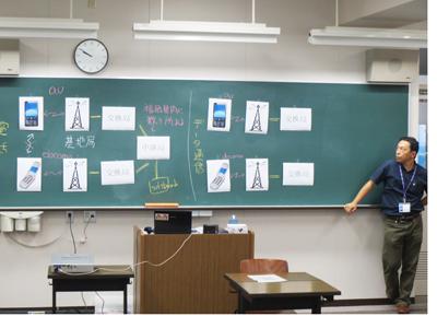 博多高校土曜講座-「情報科学入門」が実施されました